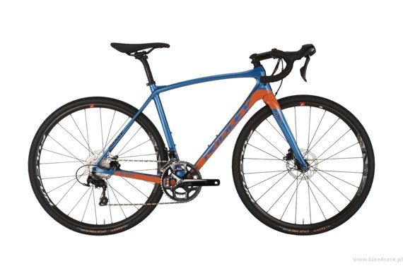 Gravel frameset RIDLEY X-TRAIL C – color XTR-02BS (Blue Green-Orange)