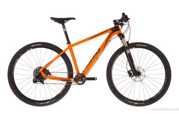 "MTB bicycle RIDLEY IGNITE C9.3 29"" – color IC-01DM (Sram GX1)"