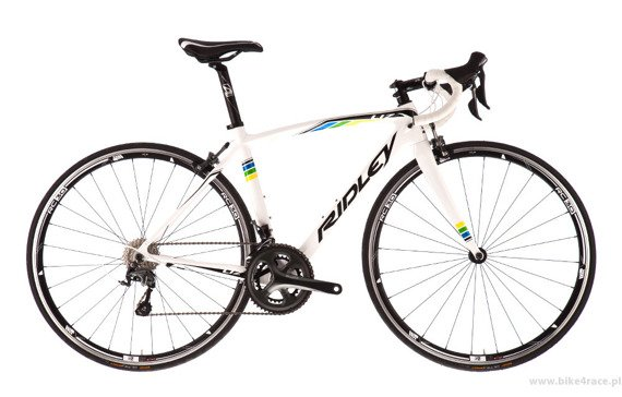 Road bicycle RIDLEY LIZ C - 105 Mix – color LIC-01CS (White-Black-Blue-Green-Yellow)