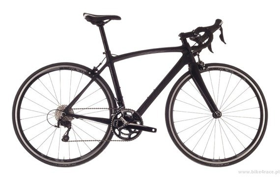 Road bicycle RIDLEY LIZ C - 105 Mix – color LIC-01DMS (Black - Black)