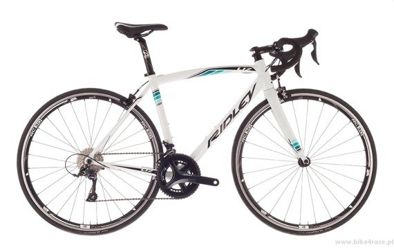 Road frameset RIDLEY LIZ A – color LI7-01AS (White-Green-Blue)