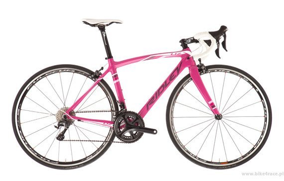 Road frameset RIDLEY LIZ C – color LIC-01AS (Pink-Purple-White)