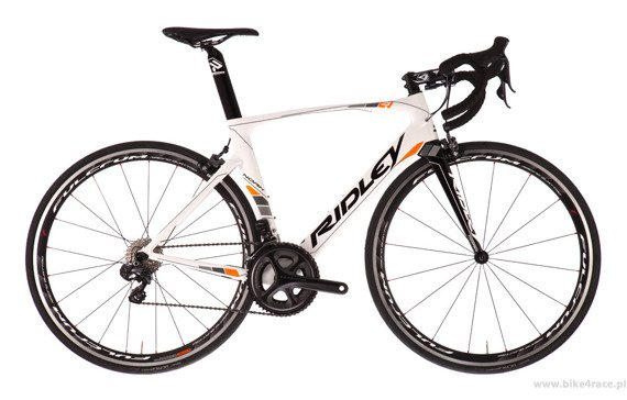 Rama szosowa RIDLEY NOAH – kolor NOA-01CS (White-Black-Orange)