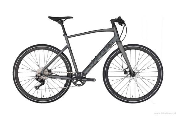 Allroad bicycle RIDLEY TEMPO MEN DISC - Deore Hydraulic Disc – color TEM-01AM (Anthracite Metallic-Black)