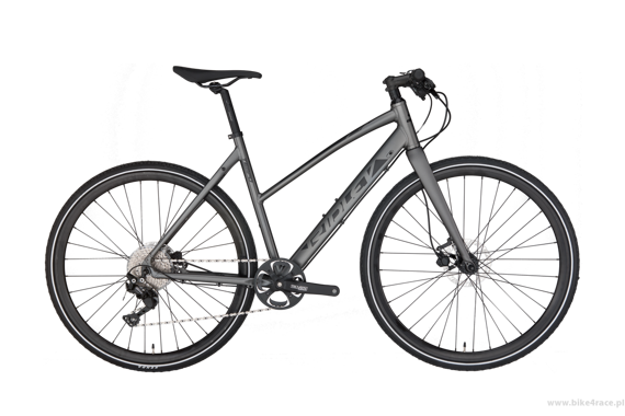 Allroad bicycle RIDLEY TEMPO WOMEN DISC - Deore Hydraulic Disc – color TEM-01AM (Anthracite Metallic-Black)