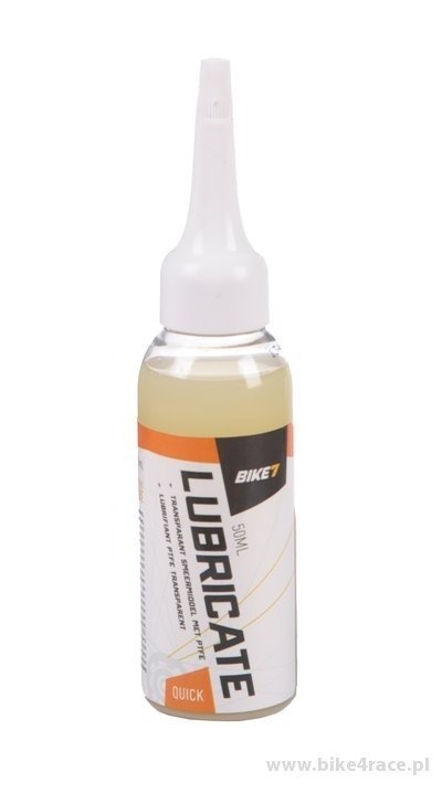 Chain oil BIKE7 Lubricate Quick Wet