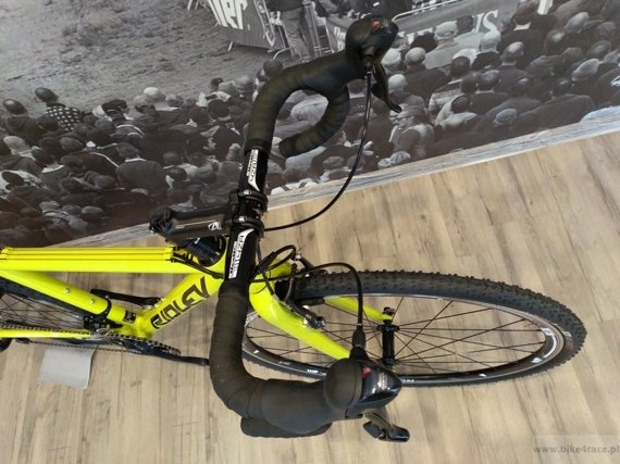 Cyclocross bicycle RIDLEY X-BOW- Sora - color P004 (Yellow Fluo)