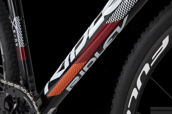 Cyclocross bicycle RIDLEY X-RIDE DISC - 105 ML Hydraulic Disc – color XRI-02AS (Black-White-Orange)