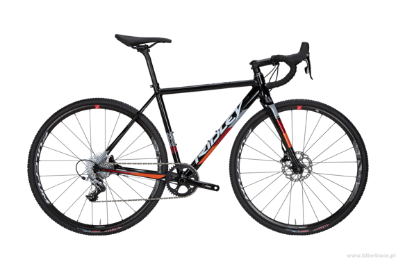 Cyclocross frameset RIDLEY X-RIDE DISC – color XRI-02AS (Black-White-Orange)