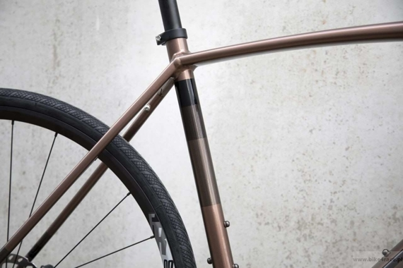 Gravel bicycle RIDLEY KANZO A - 105 ML Hydraulic Disc – color KAA-01AS (Copper Brown-Black)