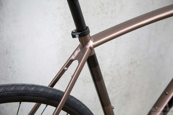 Gravel bicycle RIDLEY KANZO A - Apex1 Mechanical Disc – color KAA-01AS (Copper Brown-Black)