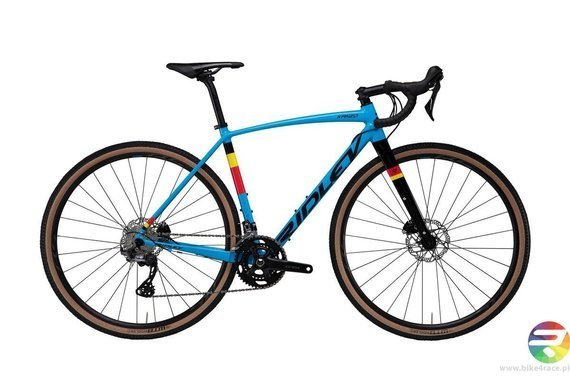 Gravel bicycle RIDLEY KANZO A - Apex1 - color KAA-02B (Belgian Blue-Black)