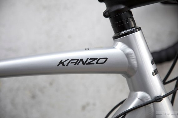 Gravel bicycle RIDLEY KANZO A - GRX600 2x11s - color KAA-02A (Silver-Black-Camou)