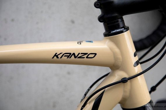 Gravel bicycle RIDLEY KANZO A - GRX800 2x11s - color KAA-02C (Beige-Black-Blue)