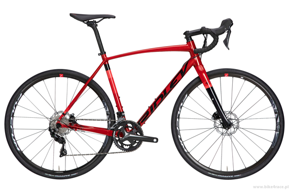 Gravel bicycle RIDLEY KANZO A - Ultegra ML Hydraulic Disc – color KAA-01BS (Candy Red Metallic-Black)