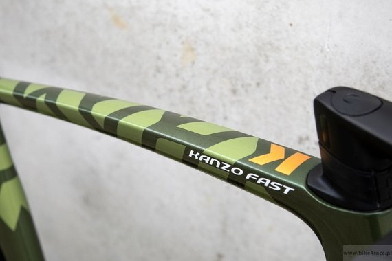 Gravel bicycle RIDLEY KANZO FAST - GRX800 1x11s Hydraulic Disc – color KAF-01AS (Army Green Metallic-Gold Metallic)