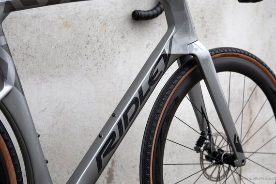 Gravel bicycle RIDLEY KANZO FAST - Rival1 - color KAF-01BS (KAF-01BS (Anthracite Metallic-Empress Grey Metallic)