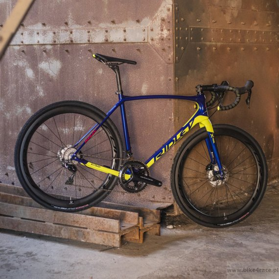 Gravel bicycle RIDLEY X-TRAIL C - Ultegra ML Road Hydraulic Disc – color XTR-02AS (Dark Blue-Lime)