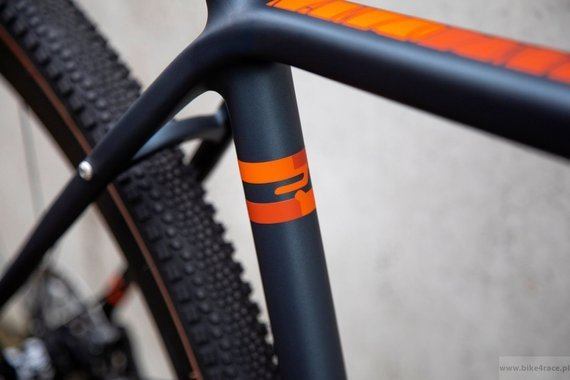 Gravel frameset RIDLEY KANZO C ADVENTURE - kolor KAC-02AM (Blue Metallic-Orange)