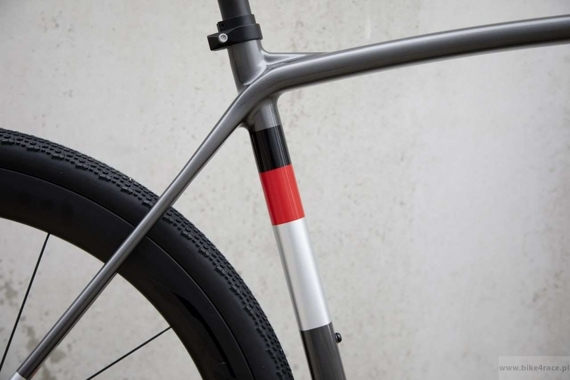 Gravel frameset RIDLEY KANZO SPEED - color KAS-01BS (Anthracite-Silver)