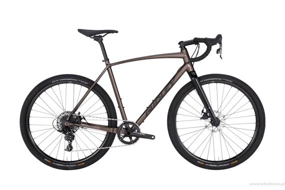 Gravel frameset RIDLEY X-TRAIL A DISC – color XTA-02BS (Copper-Black Reflective)