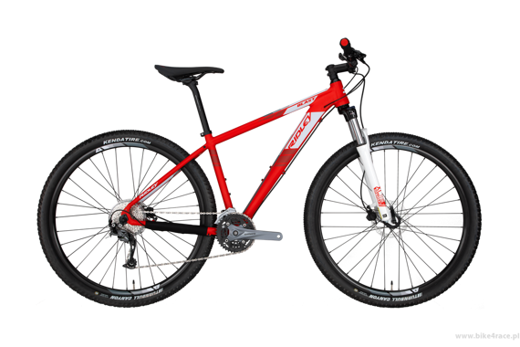 MTB bicycle RIDLEY BLAST - Alivio - kolor BL-904BM (Red-White)