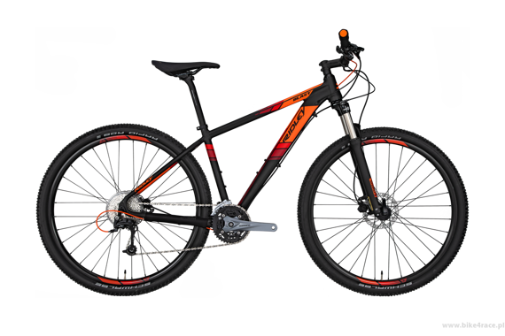 MTB bicycle RIDLEY BLAST - Deore - kolor BL-904AM (Black-Orange-Red)
