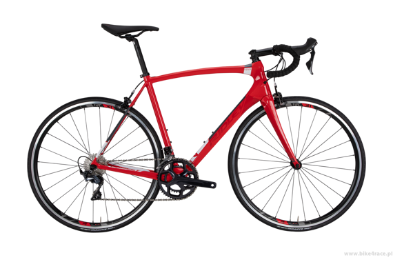 Road bicycle RIDLEY FENIX C - Tiagra – color FEC-03AS (Red-Red Metallic-White)