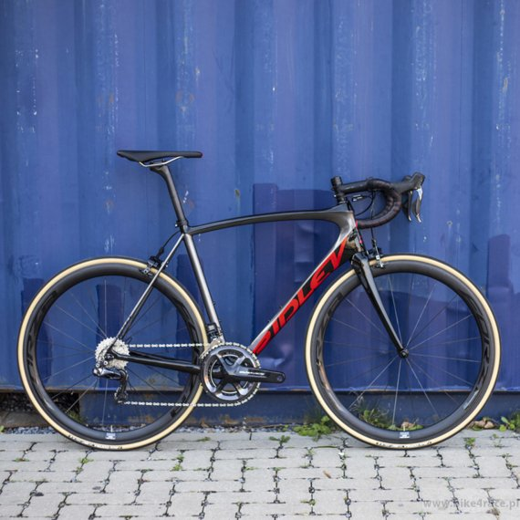 Road bicycle RIDLEY FENIX SL - 105 ML – color FSL-08AS (Black-Anthracite-Red Metallic)