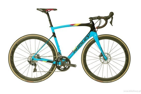 Road bicycle RIDLEY FENIX SL DISC - 105 ML Hydraulic Disc – color D647AS (Belgian Blue)