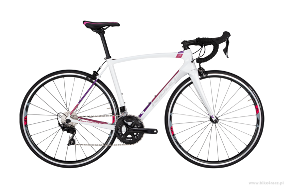 Road bicycle RIDLEY LIZ C - 105 ML – color LIC-03AS (Pearl White-Pink-Silver)