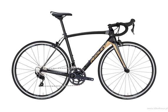 Road bicycle RIDLEY LIZ C - 105 ML – color LIC-03BST (Smokey Black-Gold-Silver)