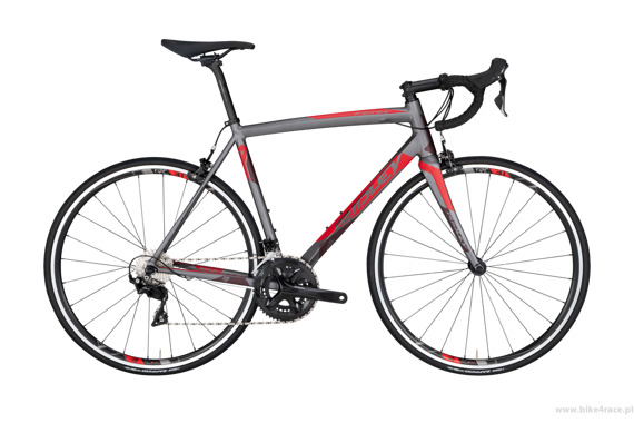 Road frameset RIDLEY FENIX A – color FEA-02CST (Anthracite Grey-Red-Red Metallic)