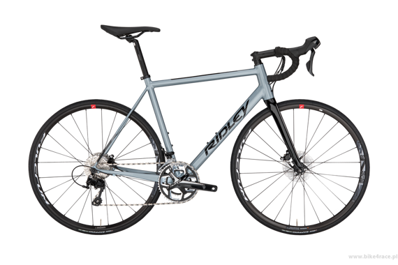 Road frameset RIDLEY HELIUM SLA Disc - color HAD-02BS (Silver Blue-Black)