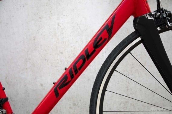 Road frameset RIDLEY HELIUM SLA - kolor HAX-02AS (Red-Black)