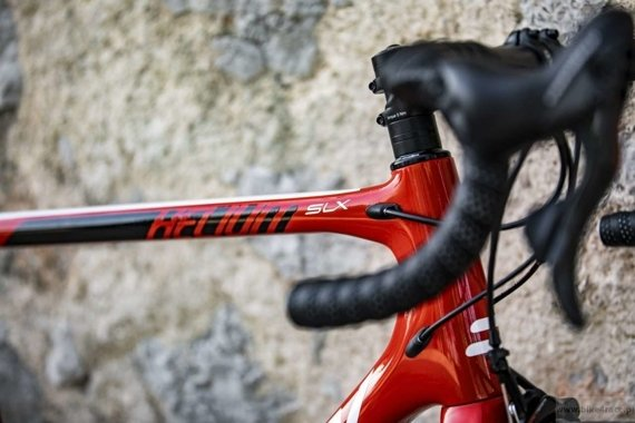 Road frameset RIDLEY HELIUM SLX – color R-HSLX-09AS (Lotto-Soudal Team Replica)