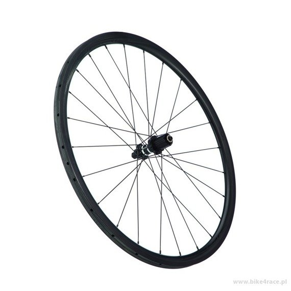 Road wheelset 4ZA Cirrus Pro T30-DTSwiss 350s Black Edition