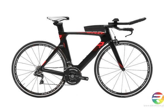 TT/triathlon bicycle RIDLEY DEAN - 105 ML - kolor DEA-02AMS (Black-Red)