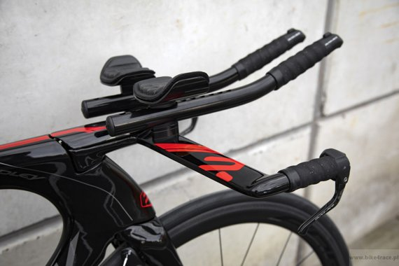 TT/triathlon bicycle RIDLEY DEAN FAST - Ultegra Di2 - color 1516B (Black-Grey-Red)