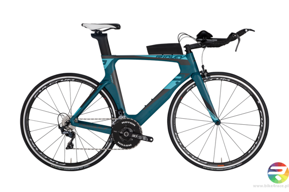 TT/triathlon bicycle RIDLEY DEAN - Ultegra - kolor DEA-02BST (Ocean Green-Black)