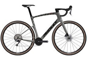 Rower gravel RIDLEY KANZO FAST - GRX800 1x11s Di2 - kolor KAF-01BS (Anthracite Metallic-Empress Grey Metallic)