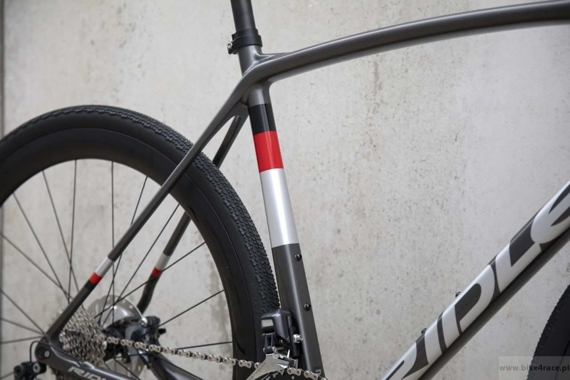 Rama gravel RIDLEY KANZO C SPEED - kolor KAS-01BS (Anthracite-Silver)