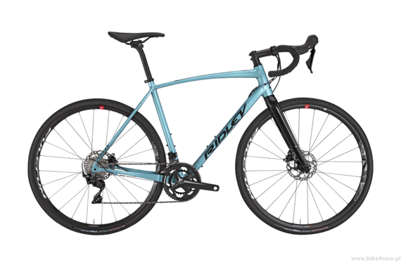 Rama gravel RIDLEY X-TRAIL A DISC – kolor XTA-02CS (Ocean Green-Black Reflective)