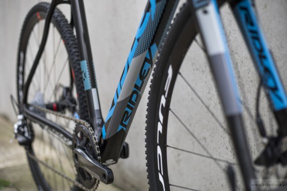 Rama przełajowa RIDLEY X-NIGHT DISC – kolor XNI-04CS (Black-Blue-Grey)