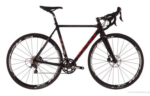 Rama przełajowa RIDLEY X-NIGHT – kolor XNI-02BM (Black-Red-Grey)