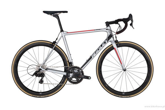 Rama szosowa  RIDLEY HELIUM X – kolor HELX-03AS (Silver-Black-Red)