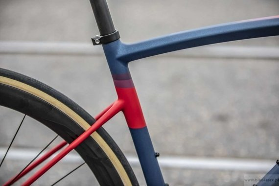 Rama szosowa RIDLEY LIZ SL DISC – kolor LSD-02AM (Midnight Blue-Aubergine-Red)