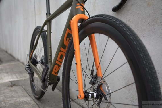 Rower gravel RIDLEY KANZO C ADVENTURE - Force1 Hydraulic Disc – kolor KAC-01AM (Camo Green-Orange)