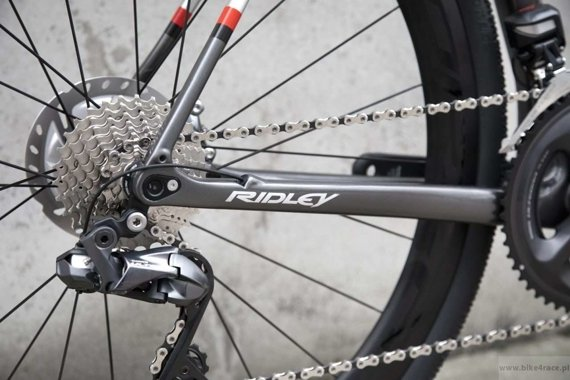 Rower gravel RIDLEY KANZO C SPEED - Ultegra Hydraulic Disc – kolor KAS-01BS (Anthracite-Silver)