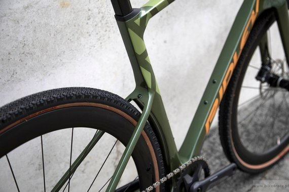 Rower gravel RIDLEY KANZO FAST - Rival1 Hydraulic Disc – kolor KAF-01AS (Army Green Metallic-Gold Metallic)